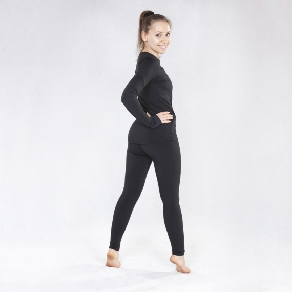 Warm leggings Oshima black winter