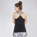 Tank-top Lotos mit Motiv