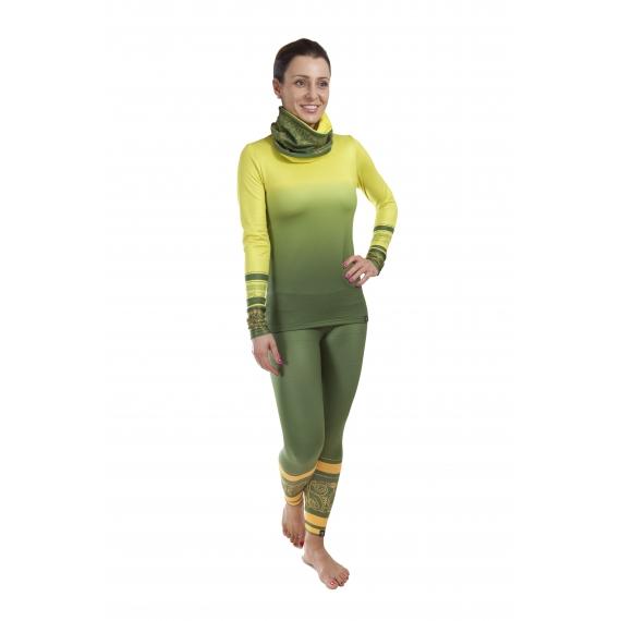 Zestaw Kayan green (legginsy + bluzka)