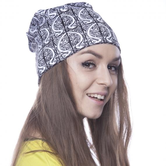 Hat Hornbill black&white