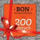 BON PODARUNKOWY o wartości 200 PLN